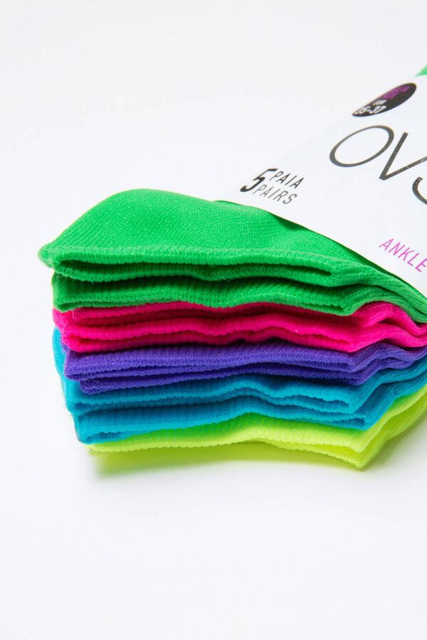 Set cinque paia di calze cotone | OVS