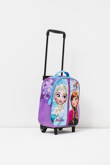 Trolley backpack with Frozen print, Pink, hi-res