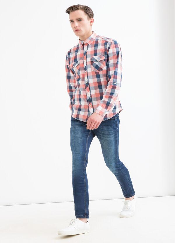 Camicia cotone a quadri G&H | OVS