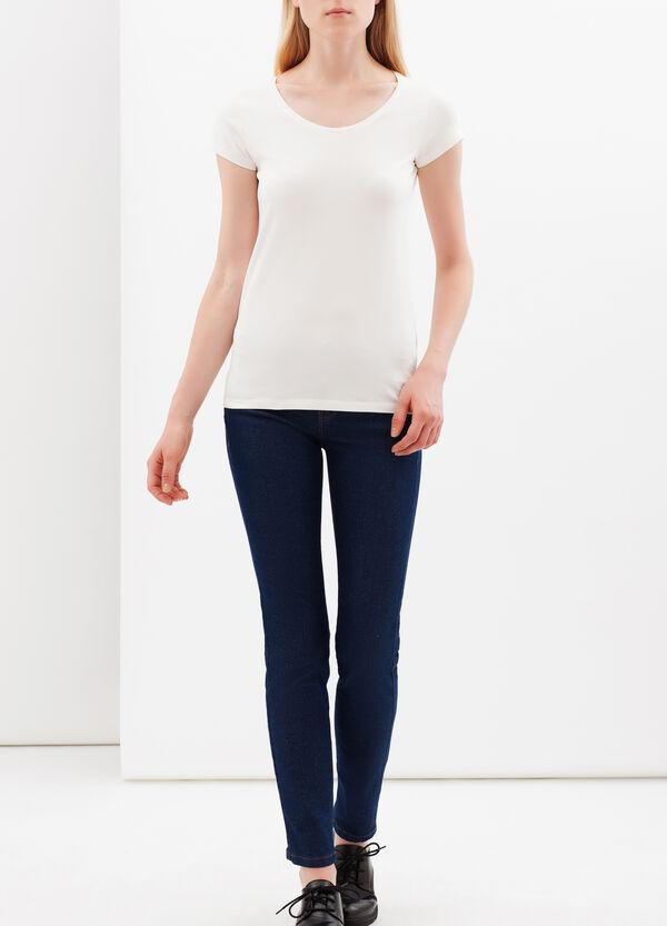 T-shirt con scollo rotondo | OVS