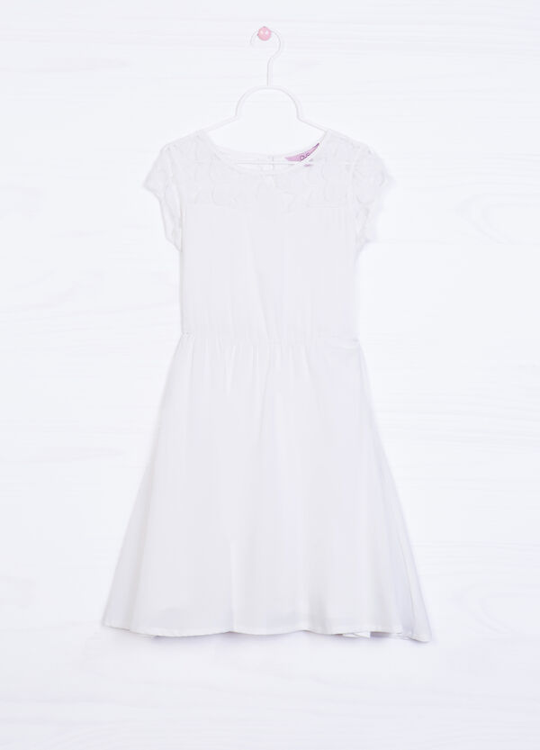 Dress in stretch cotton | OVS