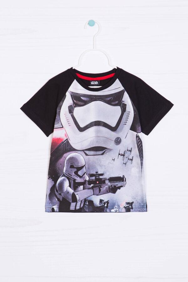 Star Wars print cotton T-shirt | OVS