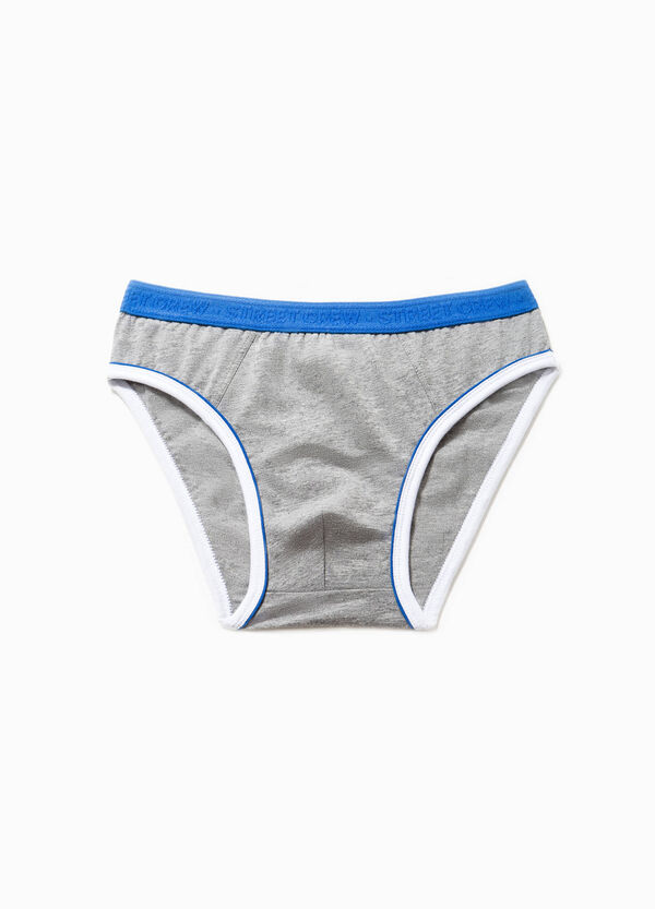Slip in cotone stretch tinta unita | OVS
