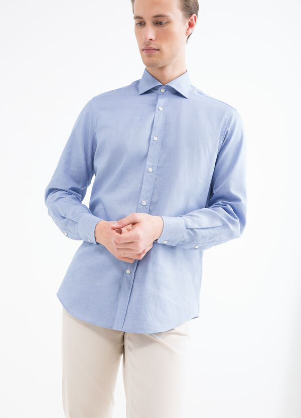 Regular fit shirt with adjustable cuffs | OVS