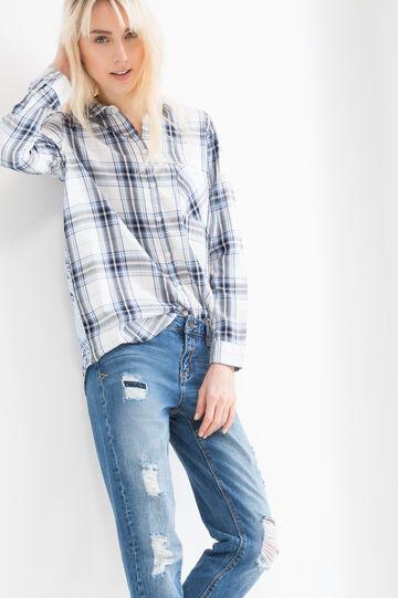 100% viscose patterned shirt