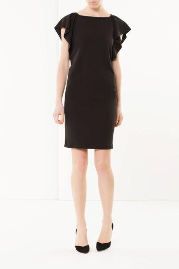 Midi dress, Black, hi-res