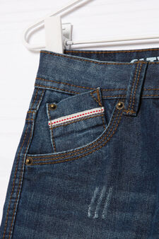 5-pocket, straight-fit jeans., Dark Wash, hi-res