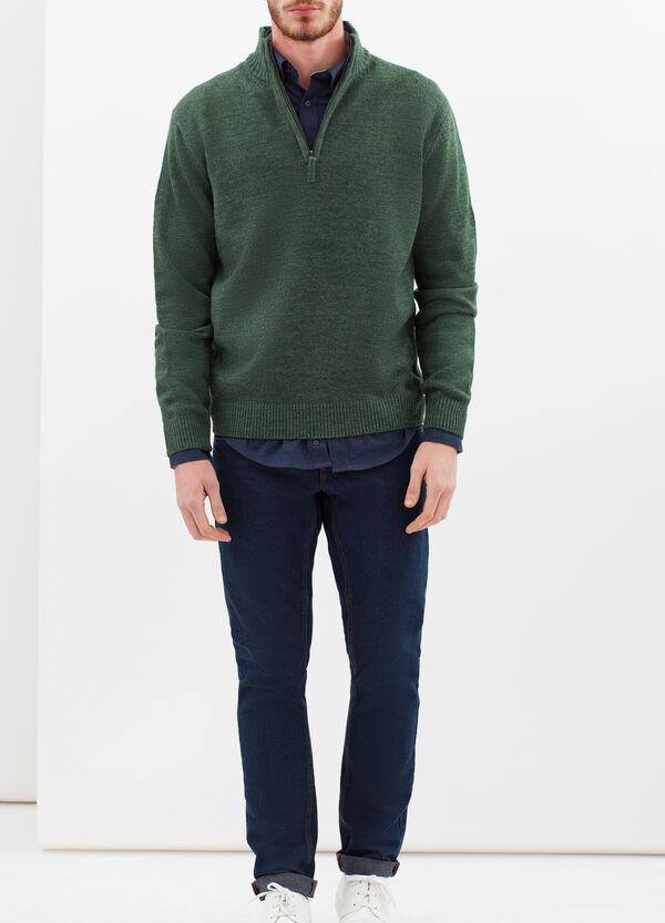 Camicia regular fit in cotone vaiella | OVS