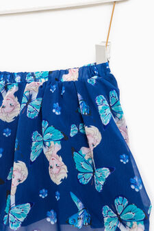 Skirt with Frozen pattern, Blue, hi-res