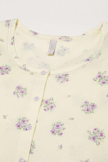 Camicia da notte fantasia Curvy, Multicolor, hi-res