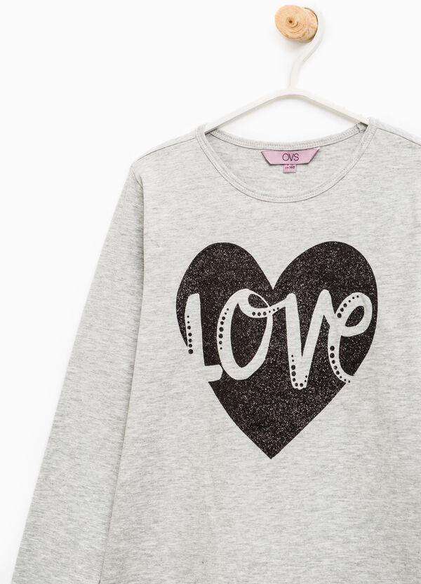 Printed stretch T-shirt | OVS
