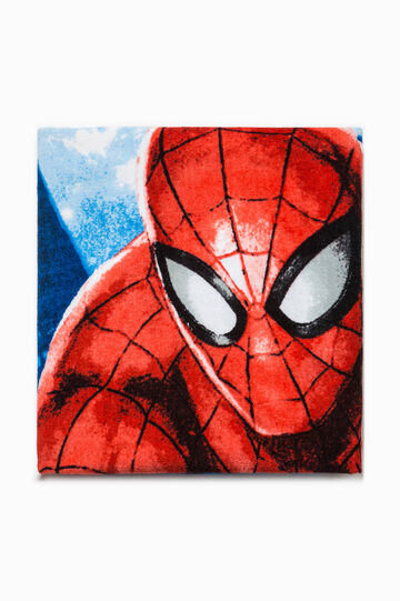 Beach towel with Spiderman print