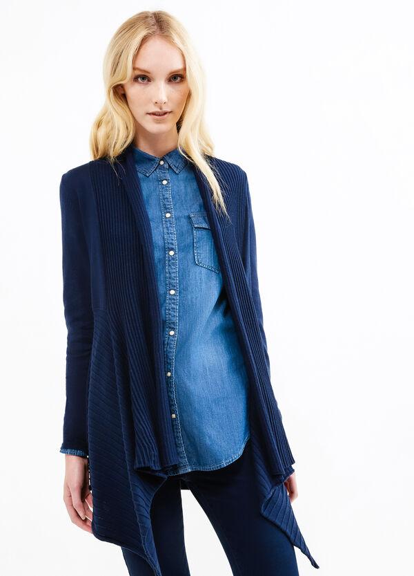 Long cardigan with shawl neck | OVS