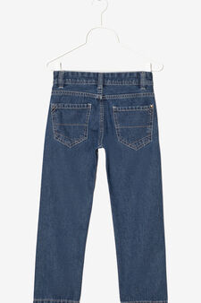 Jeans with zip fastening, Soft Blue, hi-res