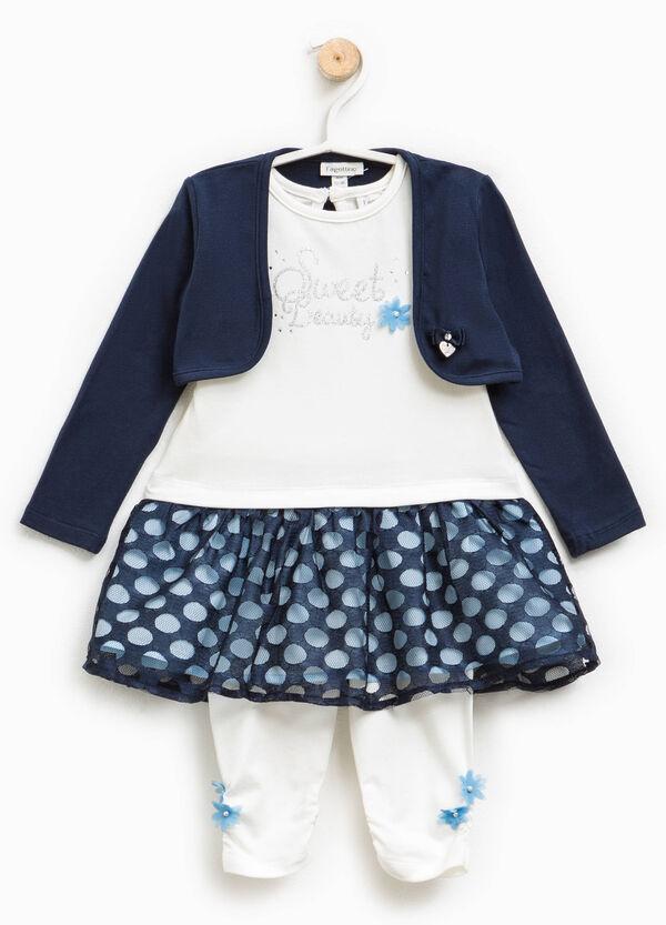 Completo coprispalle vestitino e leggings | OVS
