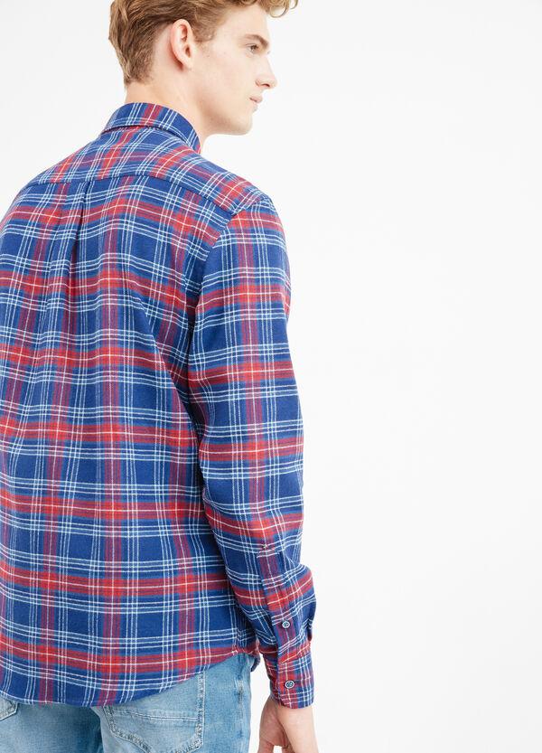 Camicia casual button down a quadri | OVS