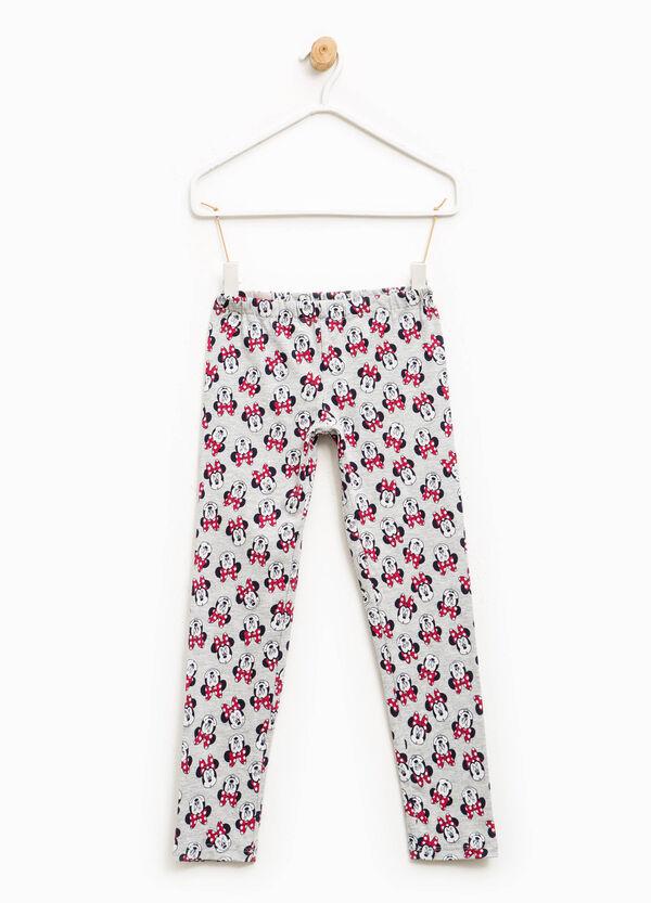 Leggings en algodón elástico de Minnie | OVS