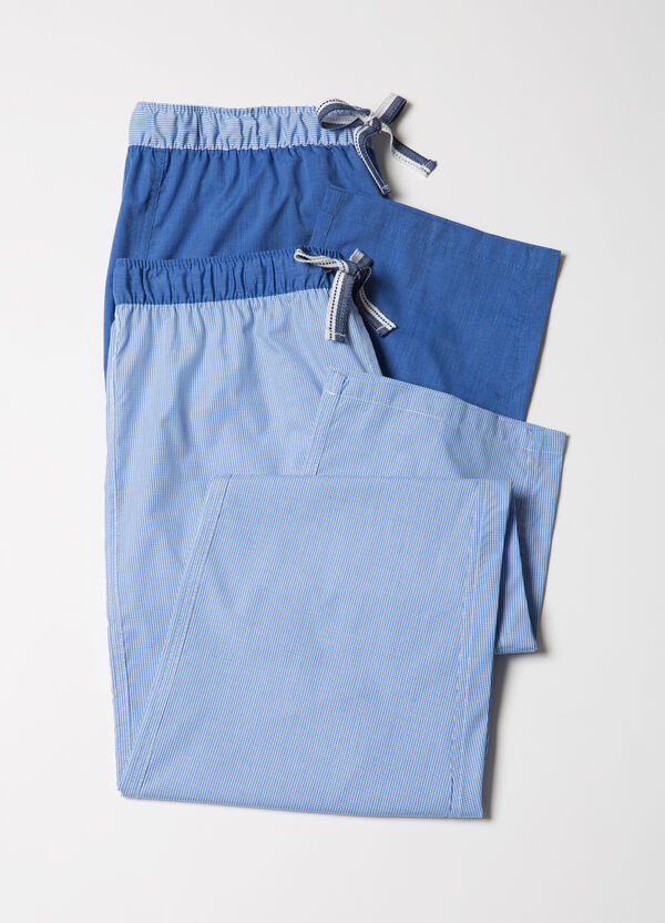 Set of two pyjama bottoms with drawstrings | OVS