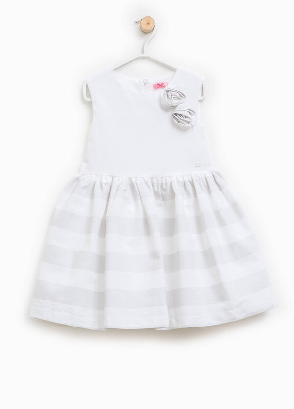 Dress with striped skirt | OVS