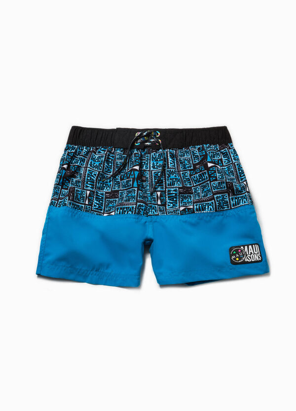 Ethnic swim boxer shorts by Maui and Sons | OVS