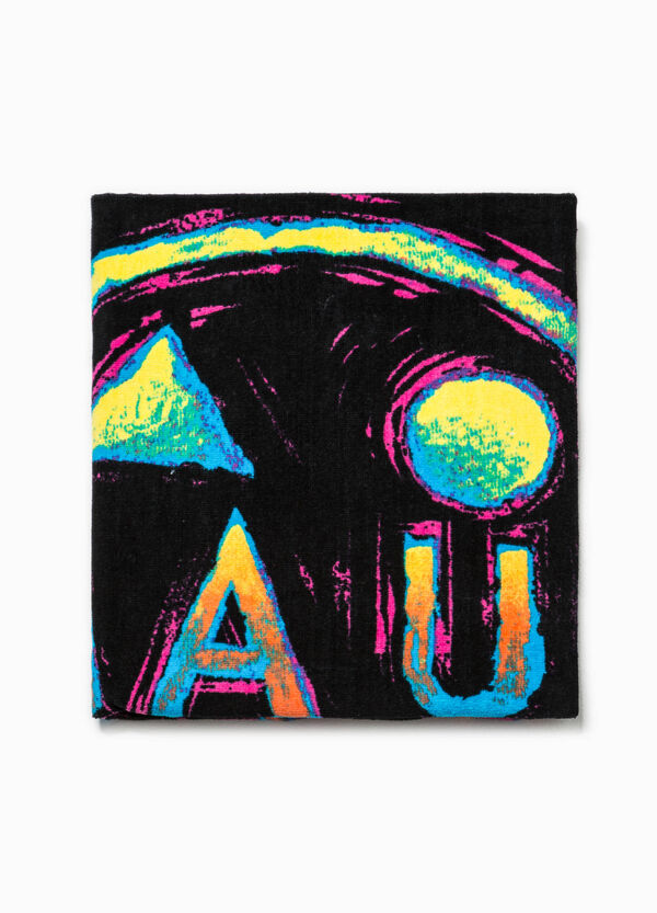 Beach towel with print by Maui and Sons | OVS