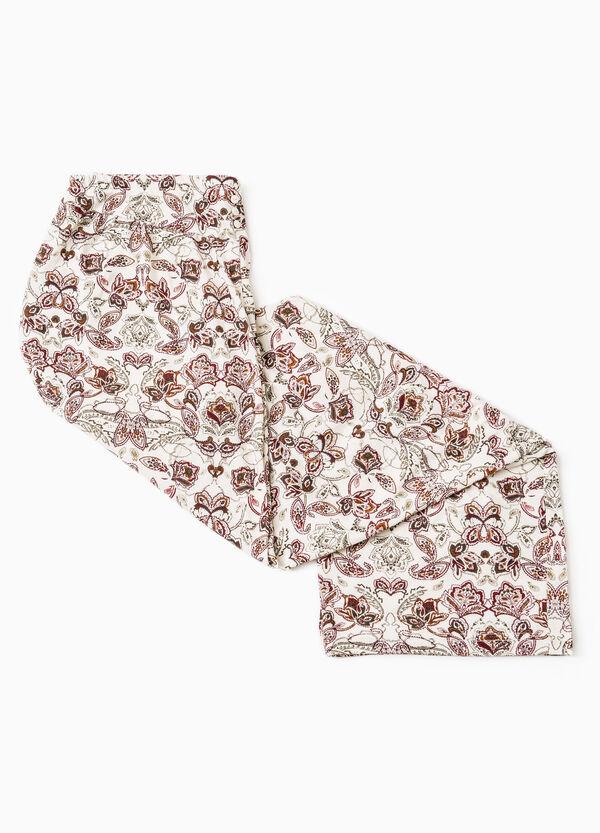Floral viscose pyjama trousers | OVS