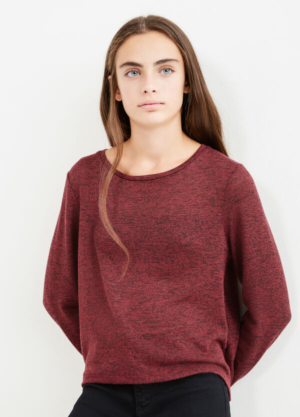 Teen stretch pullover with lace | OVS