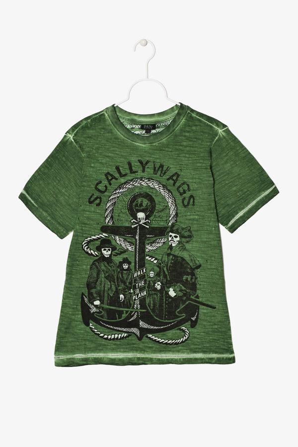 T-shirt effetto usurato con stampa | OVS