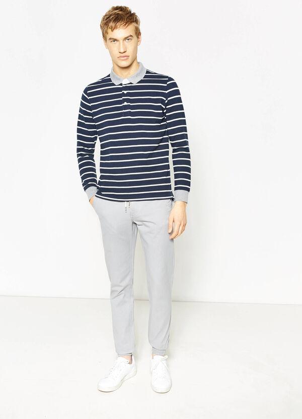 Pantaloni jogger fit in puro cotone | OVS