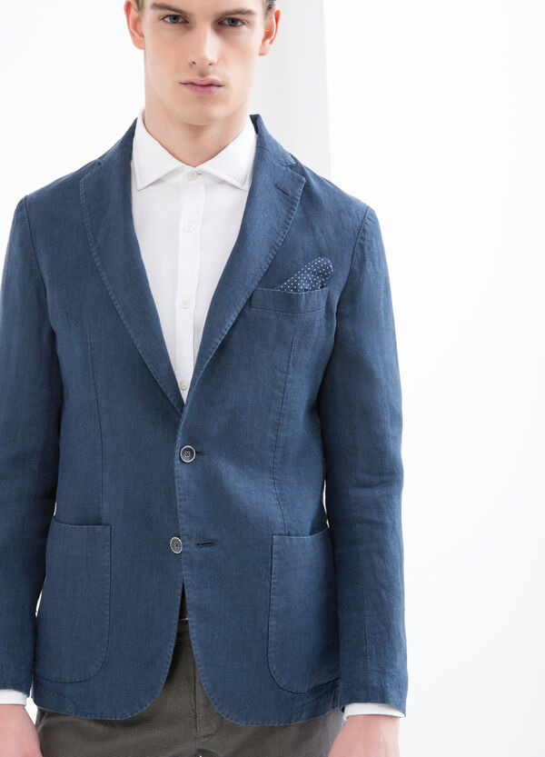 Rumford 100% linen jacket | OVS
