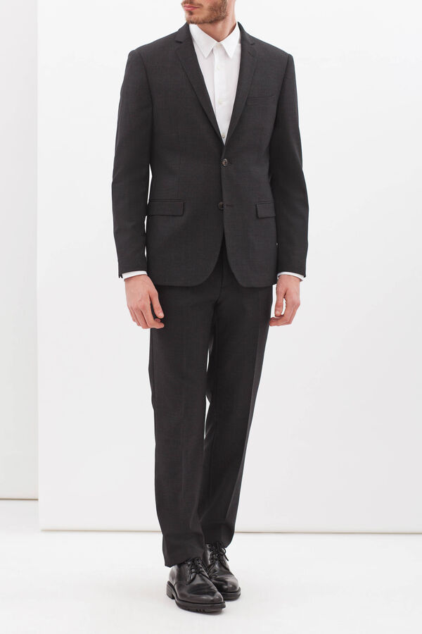 Elegant, slim-fit, wool-blend suit | OVS