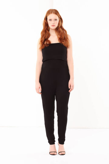 Curvyglam jumpsuit, Black, hi-res