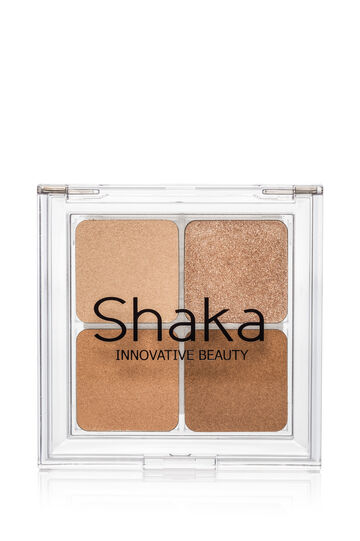 Concealer palette with four shades for face, Light Brown, hi-res