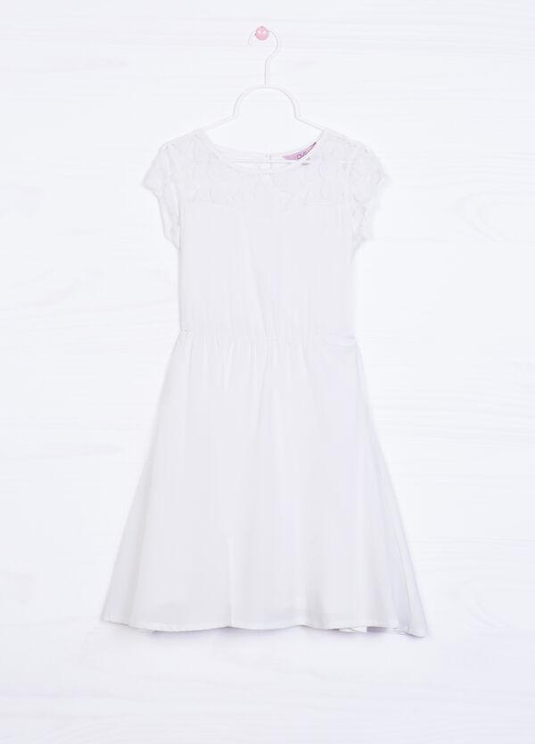 Dress in stretch cotton | OVS