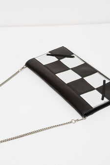 Clutch, Jean Paul Gaultier for OVS, Black/Silver, hi-res