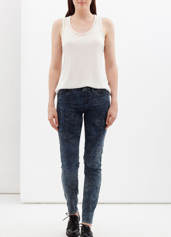 Stretch jeggings | OVS