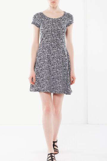 Stretch mini dress, White print 1, hi-res