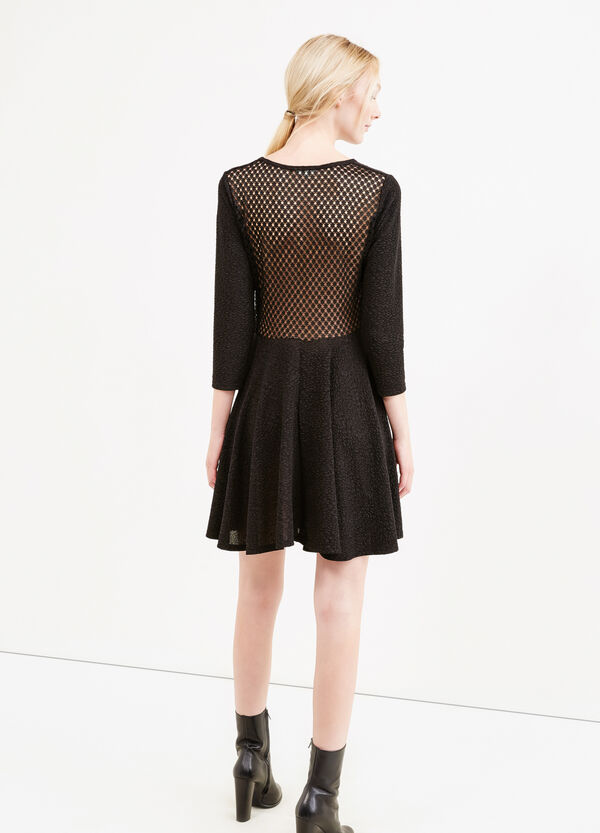 Dress with openwork design on the back | OVS
