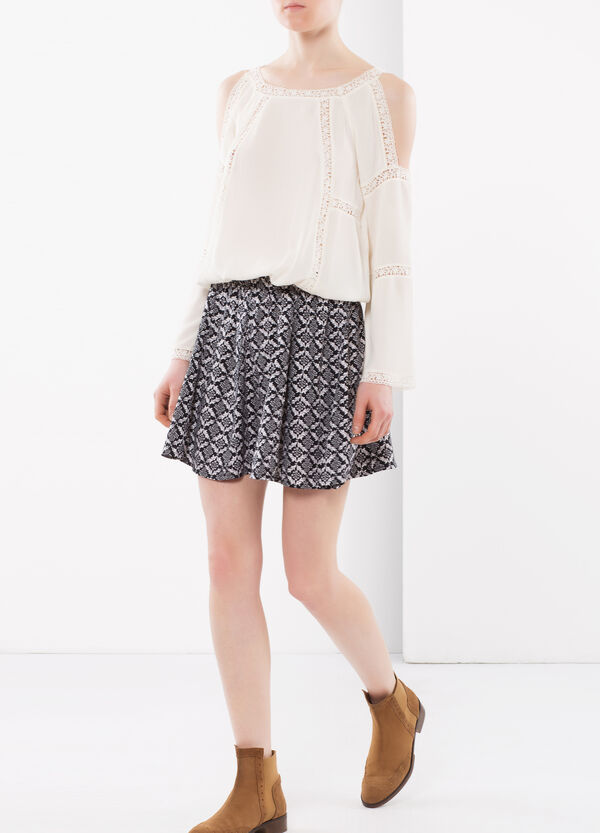 Short, flared skirt | OVS