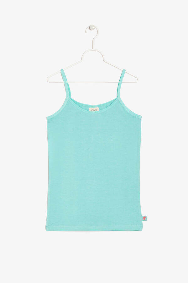 Tank top with spaghetti straps | OVS