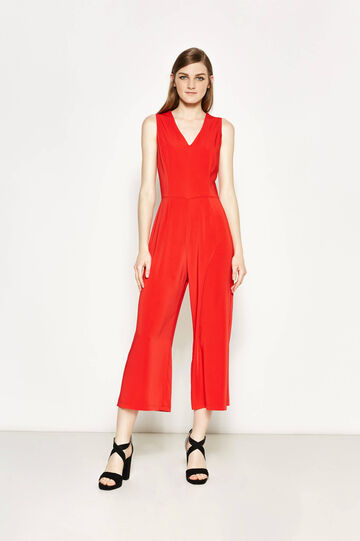 Sleeveless stretch playsuit