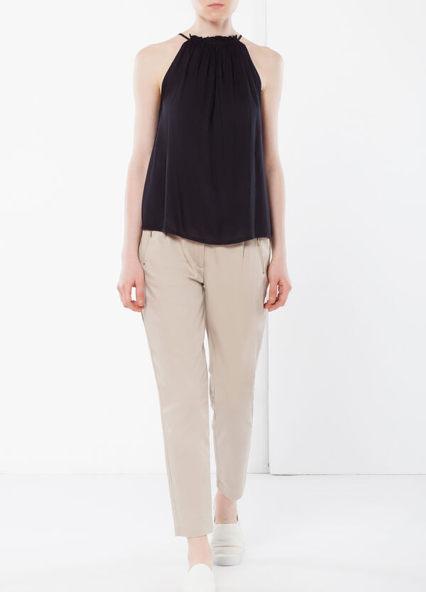 Trousers with darts | OVS