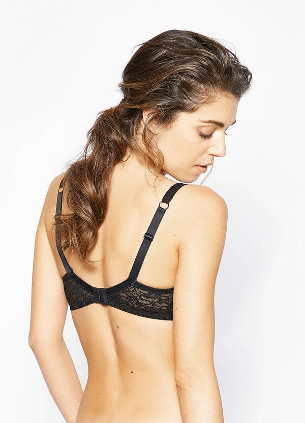 Stretch lace soft bra   OVS