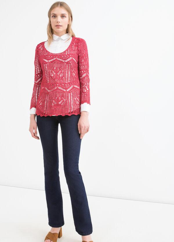 Pullover traforato tricot | OVS