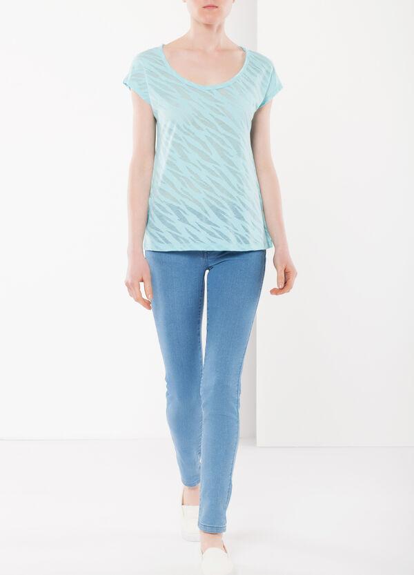 T-shirt semitrasparente | OVS