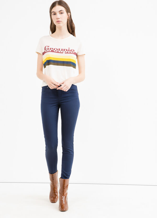 Pantaloni push up stretch a vita bassa | OVS