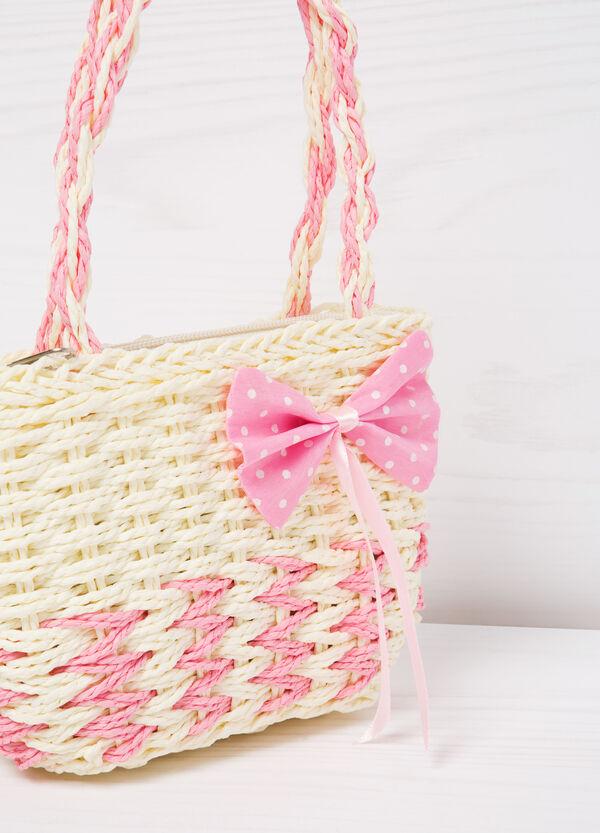 Shoulder bag with contrasting bow   OVS