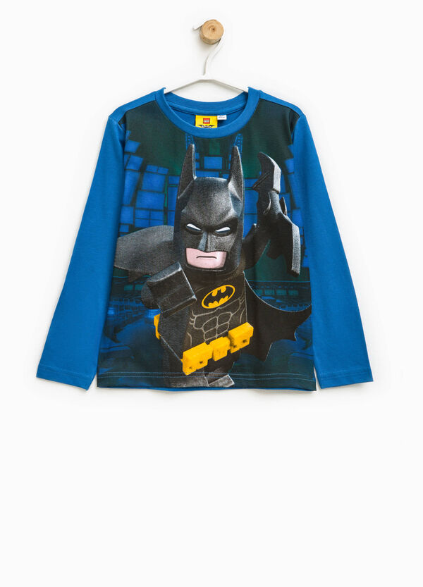 T-shirt with Batman print and long sleeves | OVS