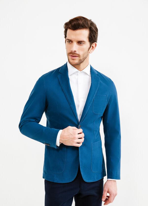 Micro-pattern Rumford jacket | OVS