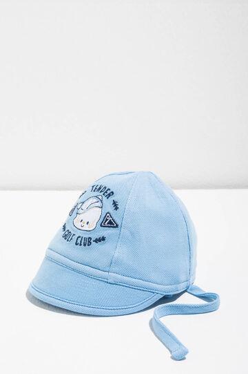 Cappello da baseball ricamato, Azzurro, hi-res
